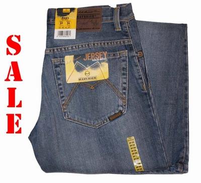 "Maverick jeans  "" M155  ""  Midden blauw used"