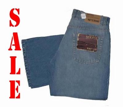 "New star jeans   "" Panama ""  Licht blauw"