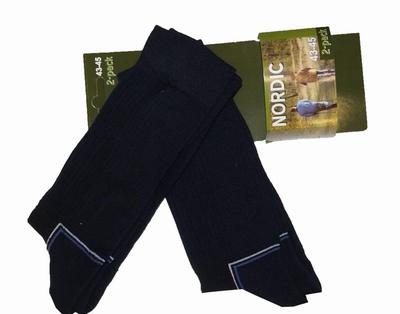"""Nordic sokken  """" Donker blauw  """"  2 paar"""