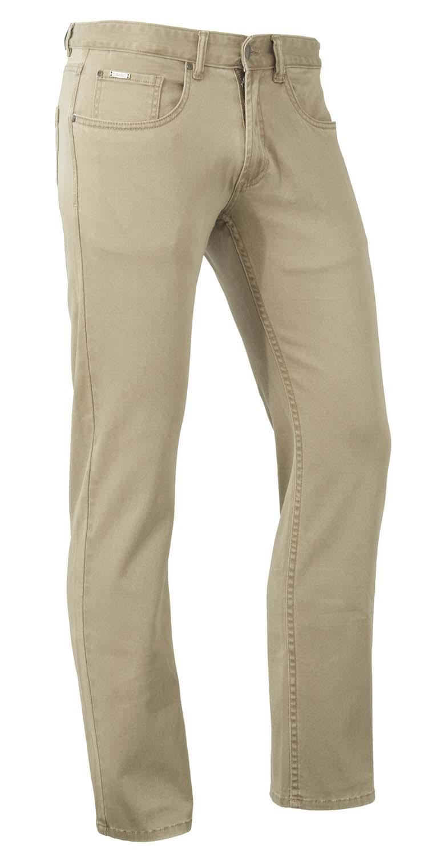 "Brams Paris stretch jeans  "" Hugo ""  Beige"