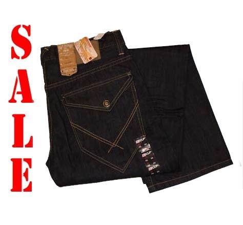 """CLP jeans  """" Klep zakken aan de achterkant """" Ultra dark used"""