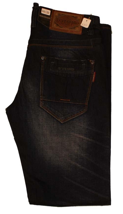 "D'Vespid jeans  "" Straight ""  Ultra dark used"