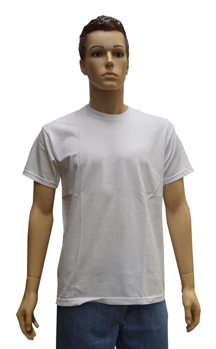 """Grote maten T-shirt met korte mouwen  """" Wit """""""
