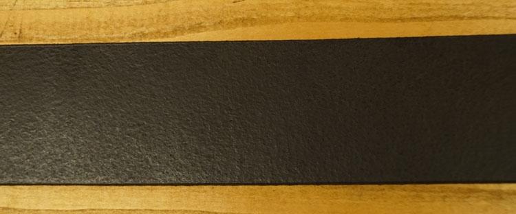 """Leren jeans riem donker bruin  """" Vittozzi  """"  4 cm breed"""