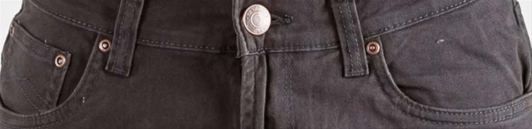 "Maskovick stretch jeans  "" A  Clinton ""  Antraciet"