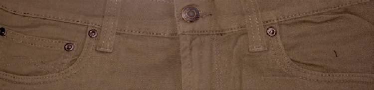 "Maskovick stretch jeans  "" A  Clinton ""  Khaki"