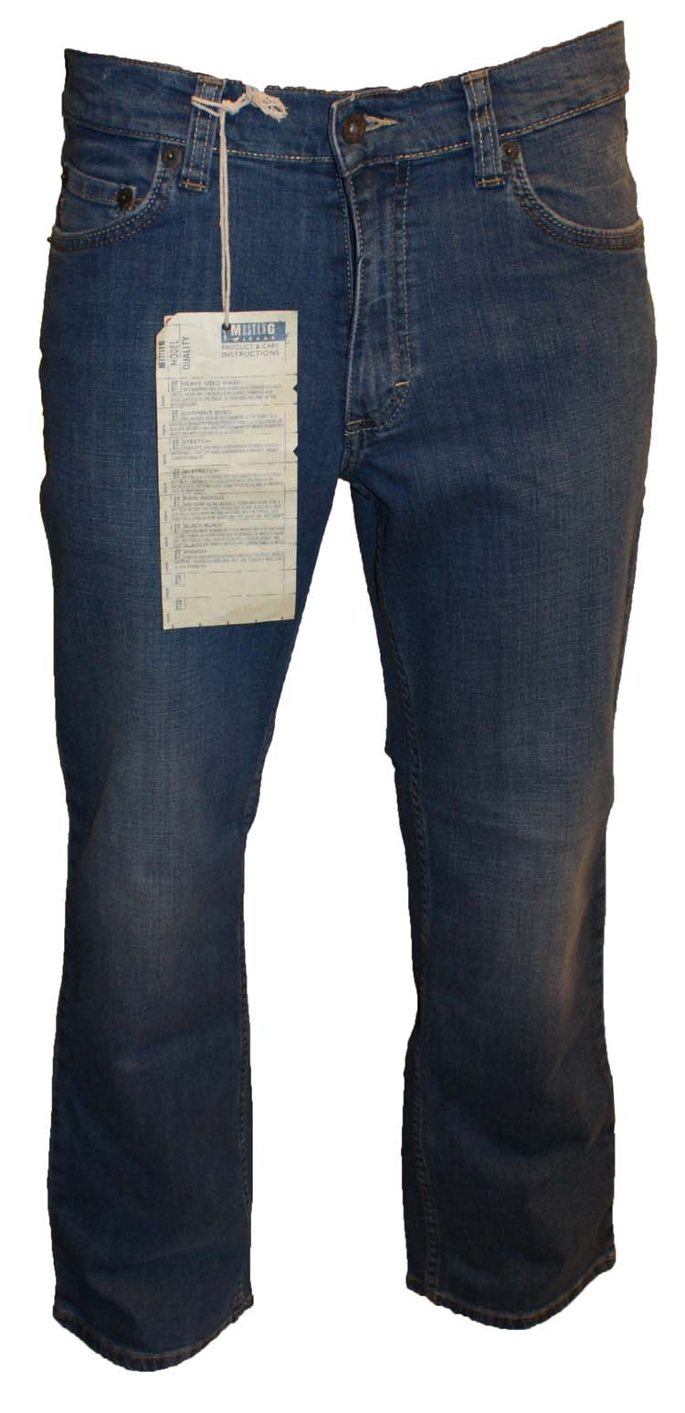 """Mustang stretch jeans  """" Bige sure """"  Bleach used"""