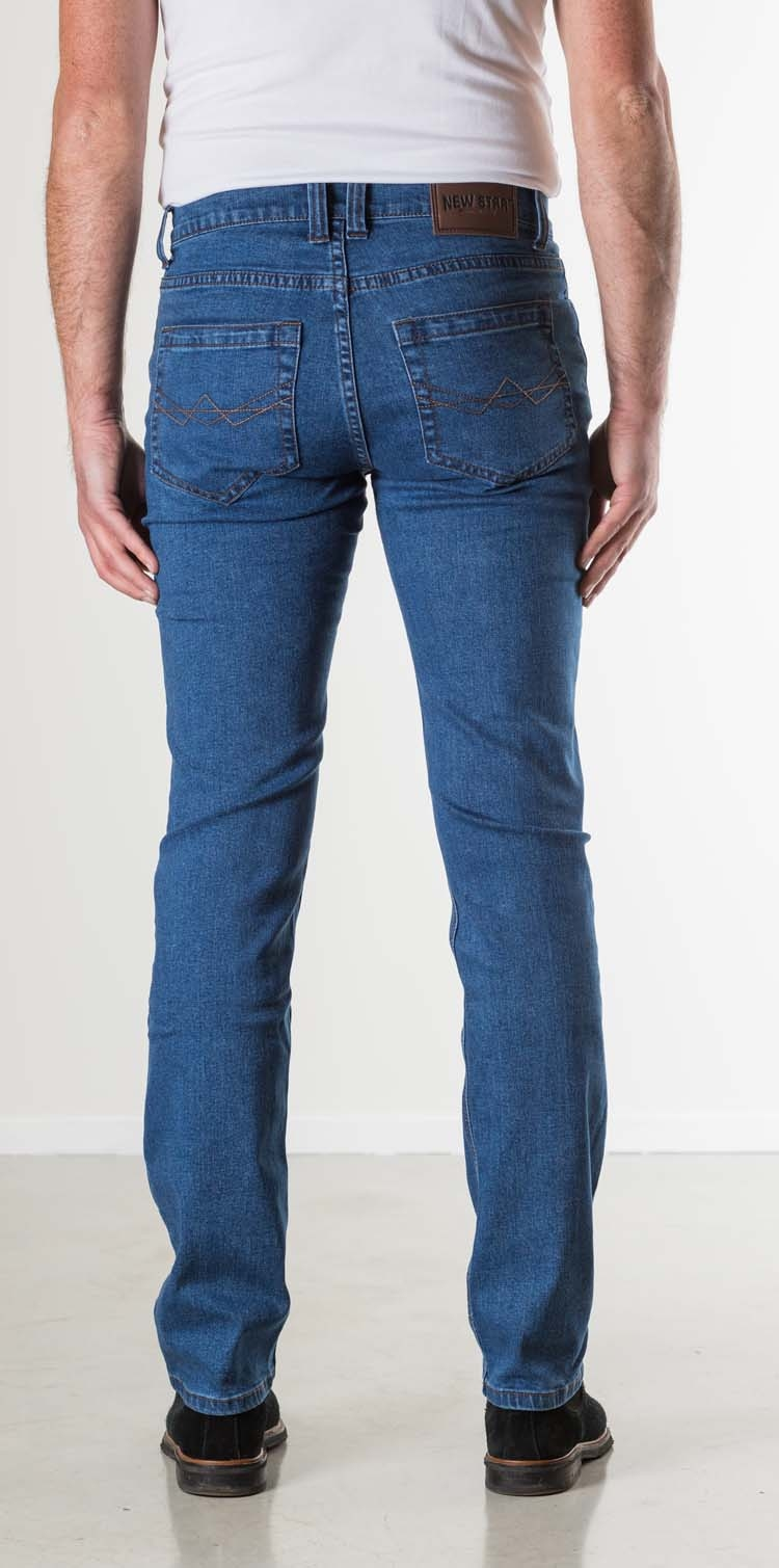 "New Star stretch jeans  "" Jacksonville "" Stone wash"