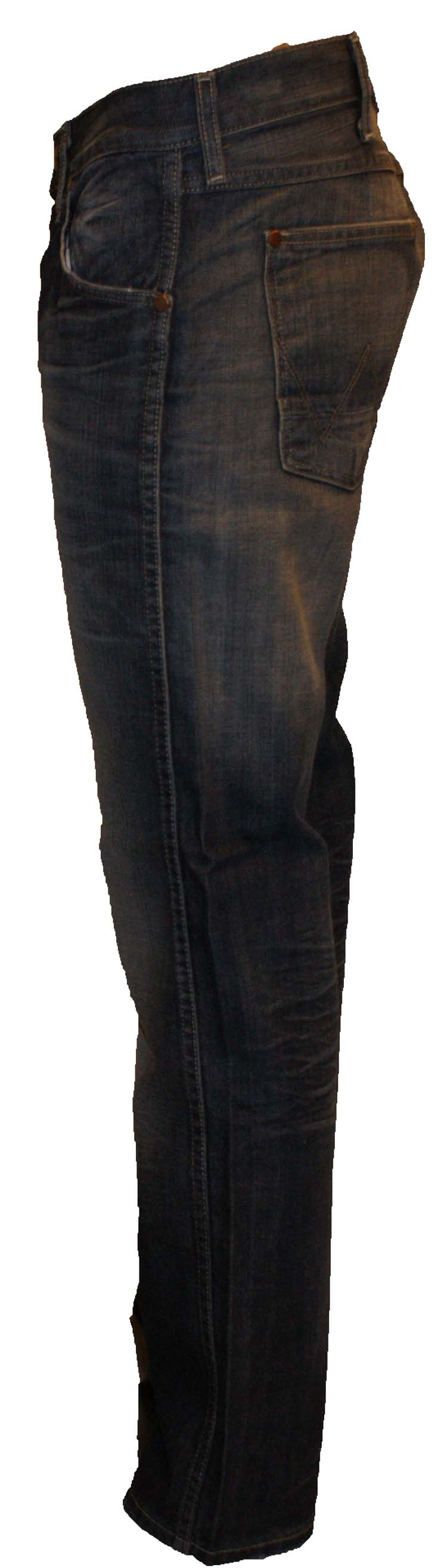 "Wrangler jeans "" Ace ""  Curb side blue"