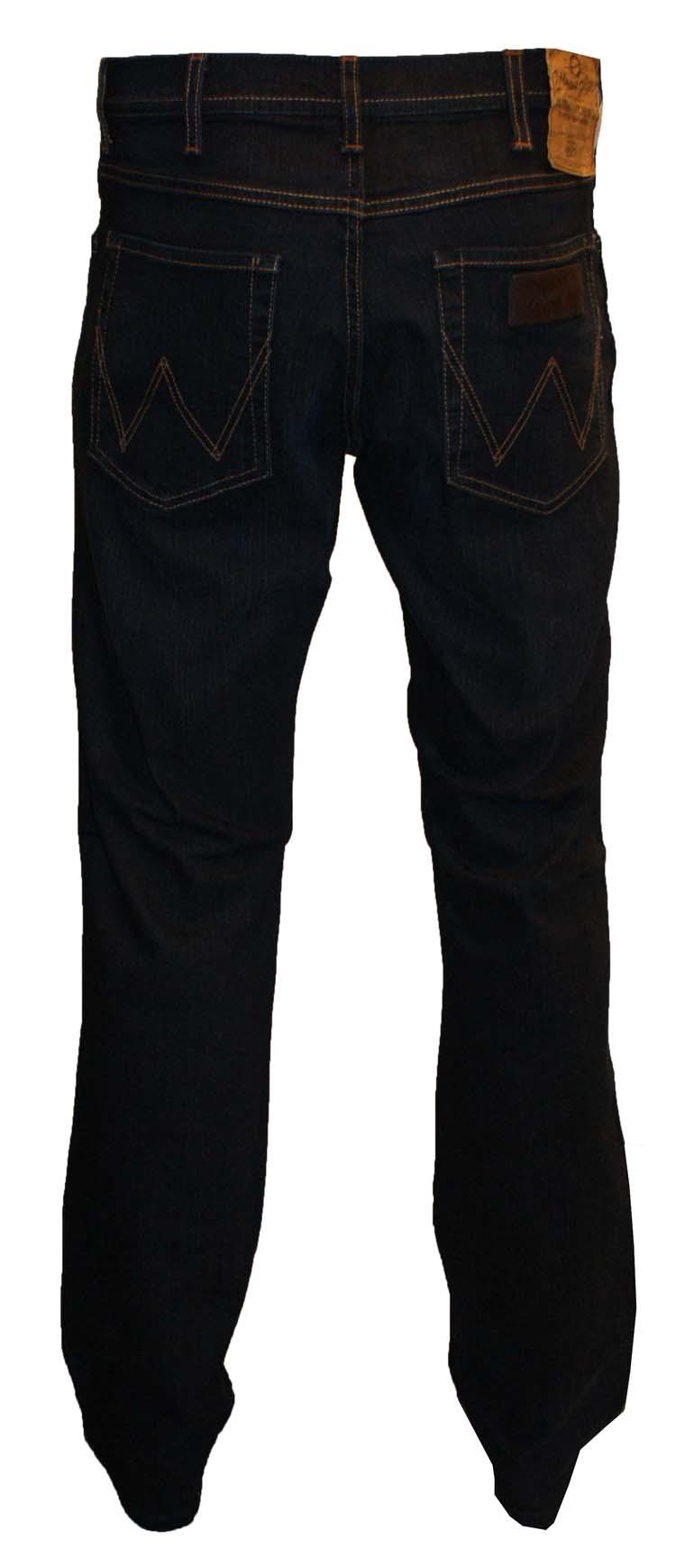 """Wrangler stretch jeans  """" Alaska """"  Ultra dark"""