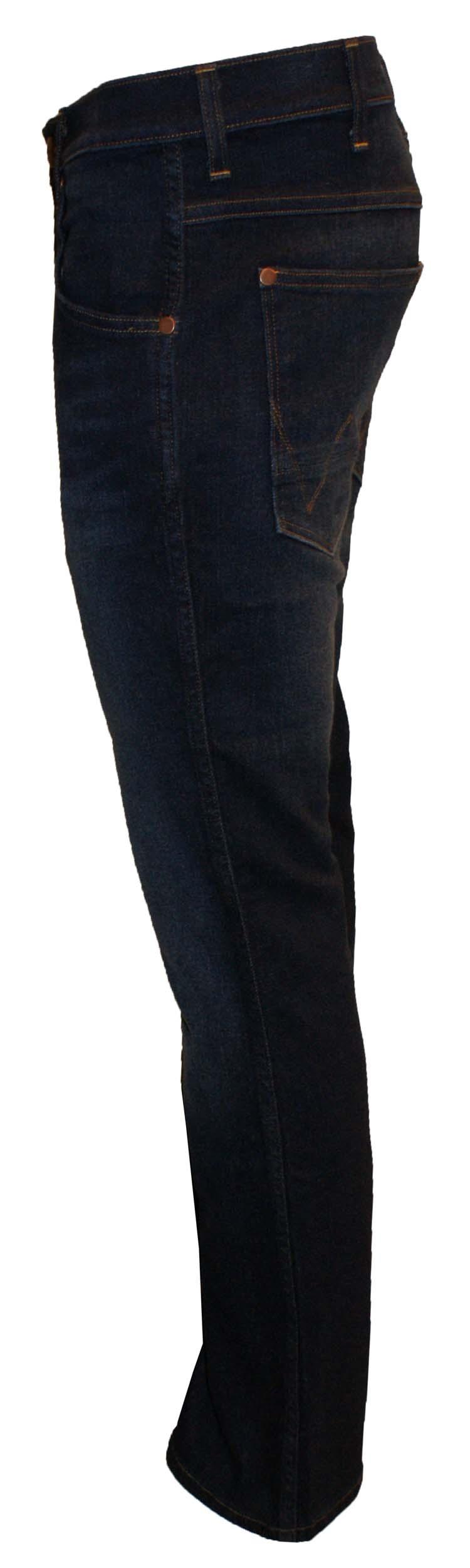 """Wrangler stretch jeans  """" Bret """"  Ultra dark"""