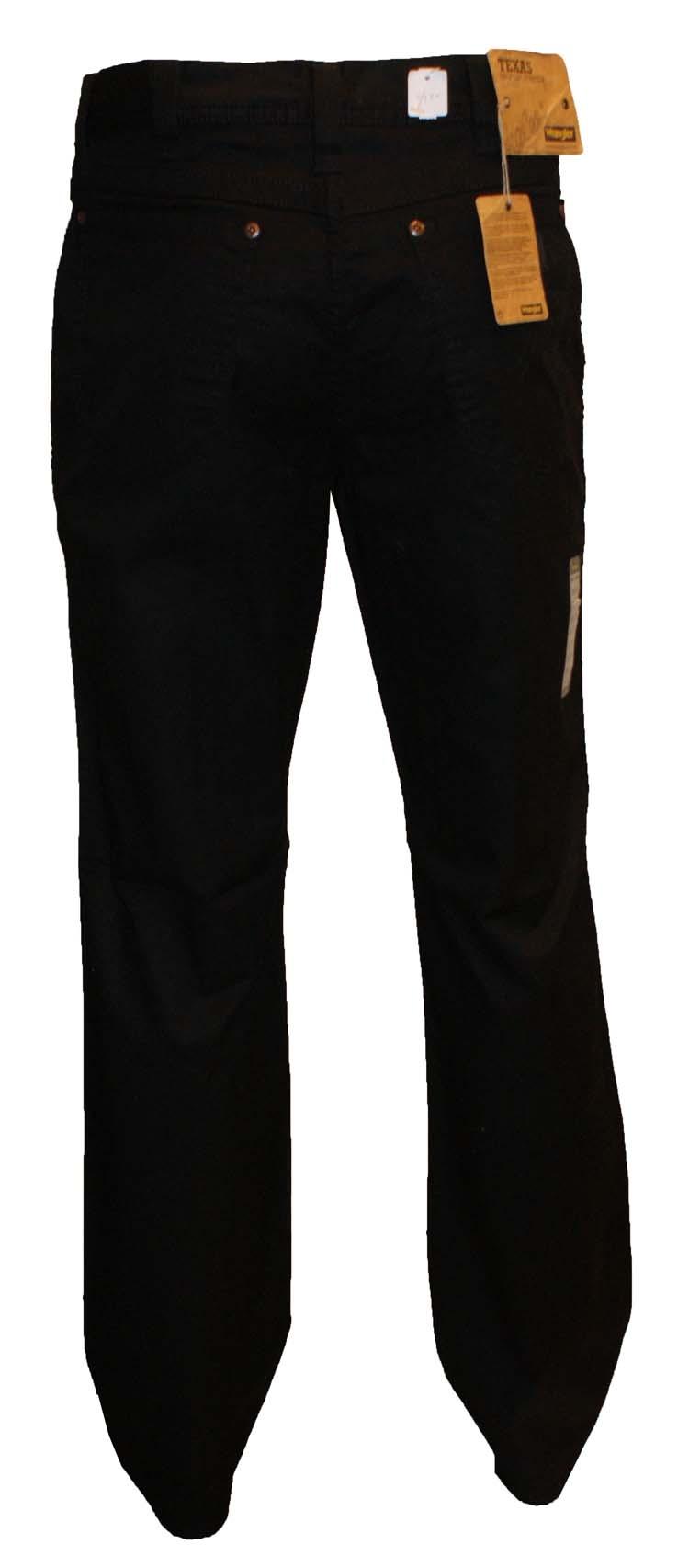 """Wrangler Stretch jeans  """" Texas """"  Black  Zomer kwaliteit"""