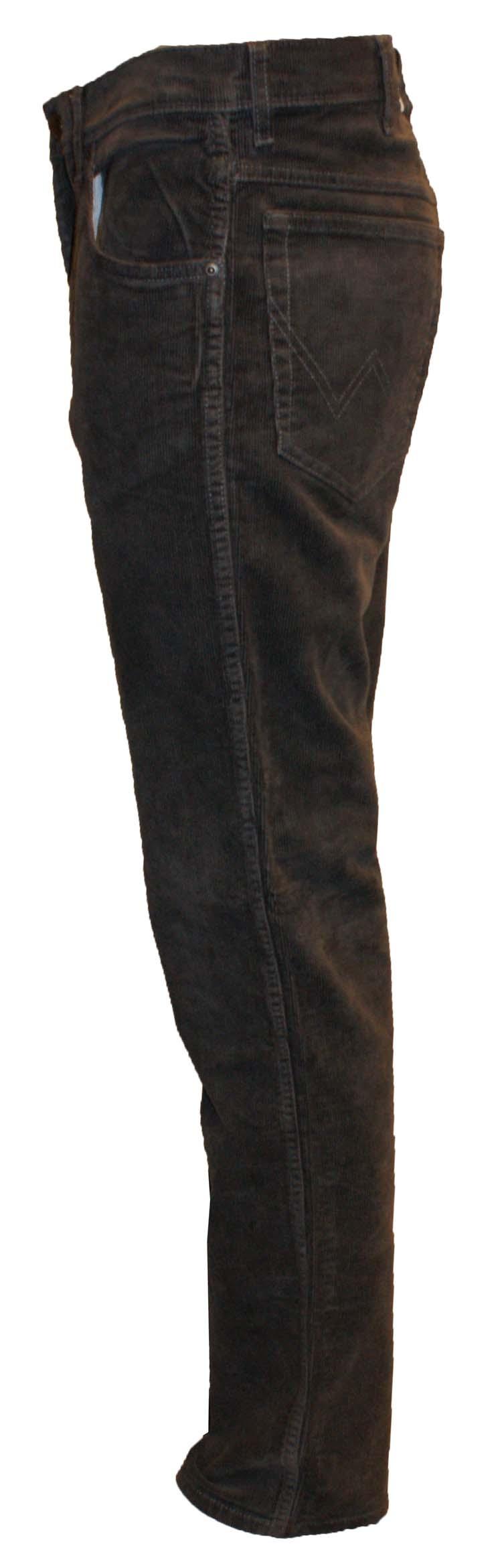 "Wrangler stretch jeans  "" Texas ""  Corduroy  Grijs"