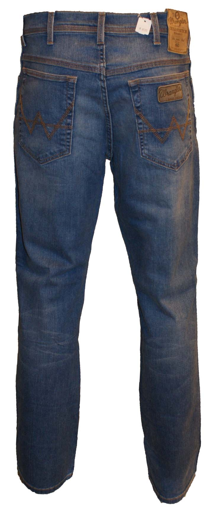 """Wrangler stretch jeans """" Arizona """" Licht blauw used"""