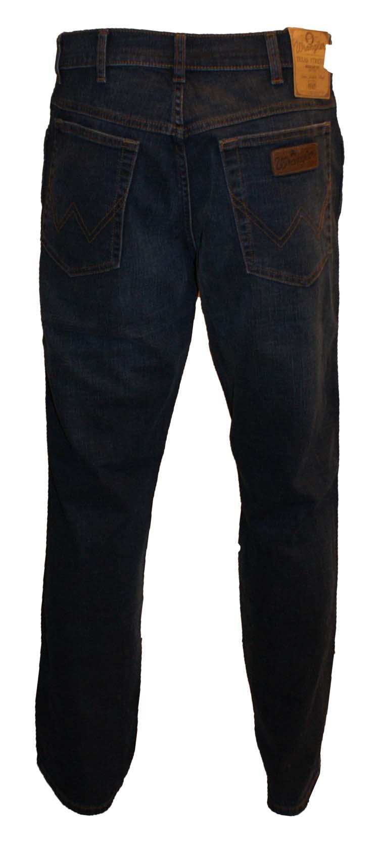 "Wrangler stretch jeans "" Texas ""  Dark used"